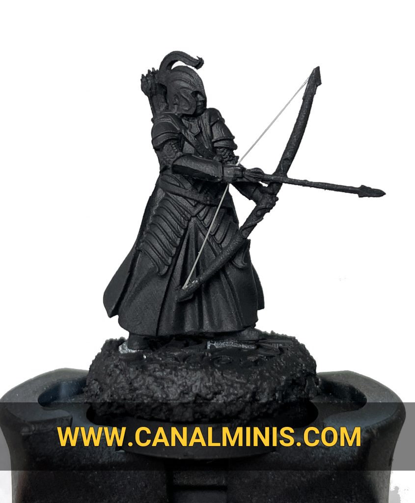 how to make a string bow warhammer miniatures