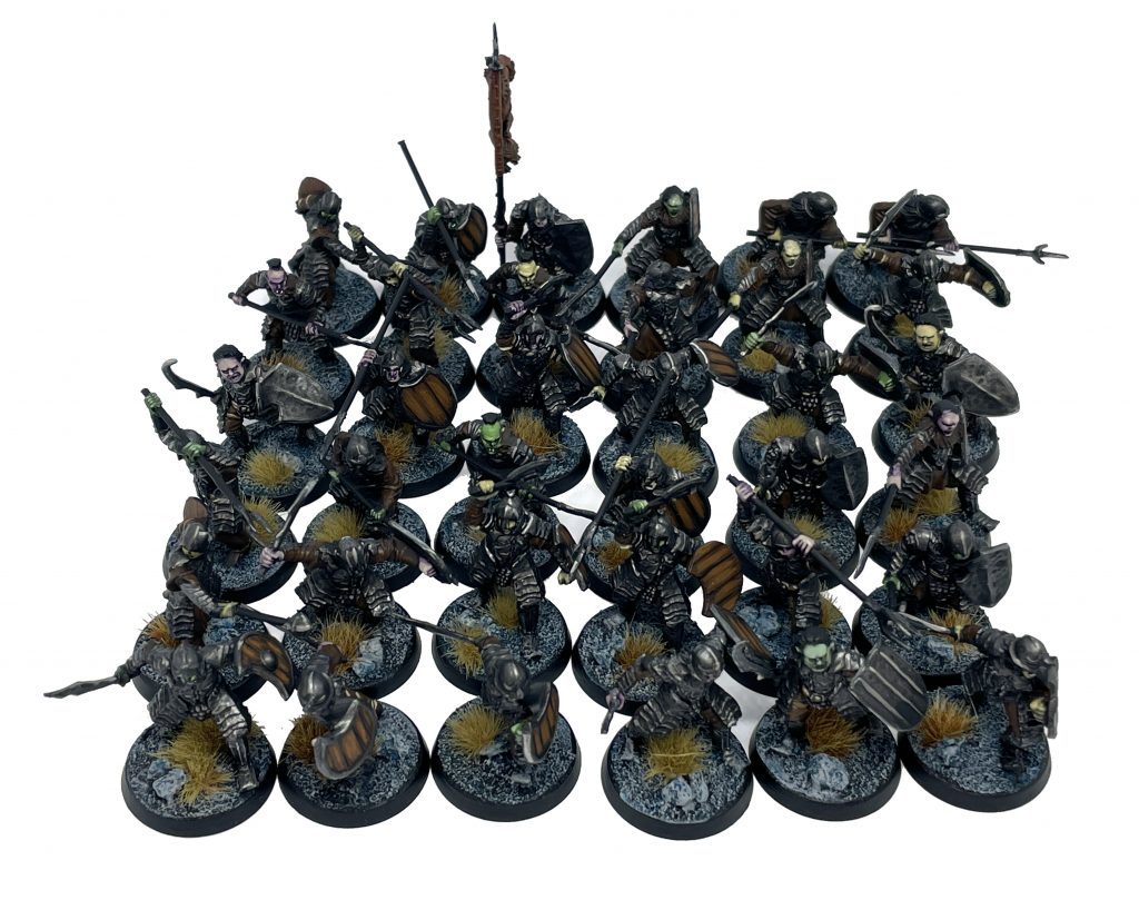 36 Orcos de Morannon Warhammer El señor de los anillos