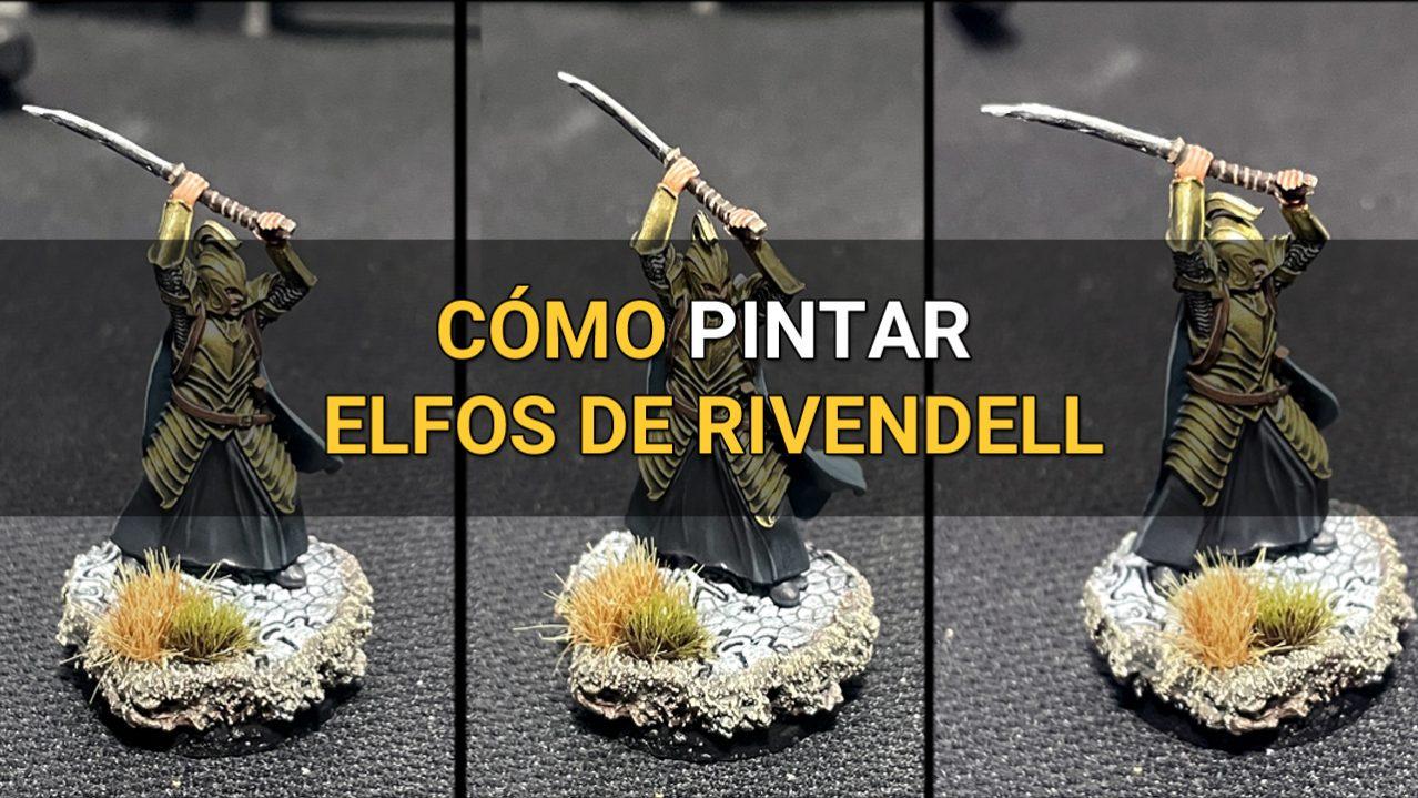 Como pintar elfos de rivendell warhammer miniaturas