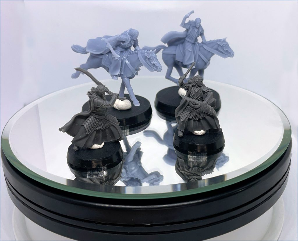 Elladan y Elrohir Alternative miniatures