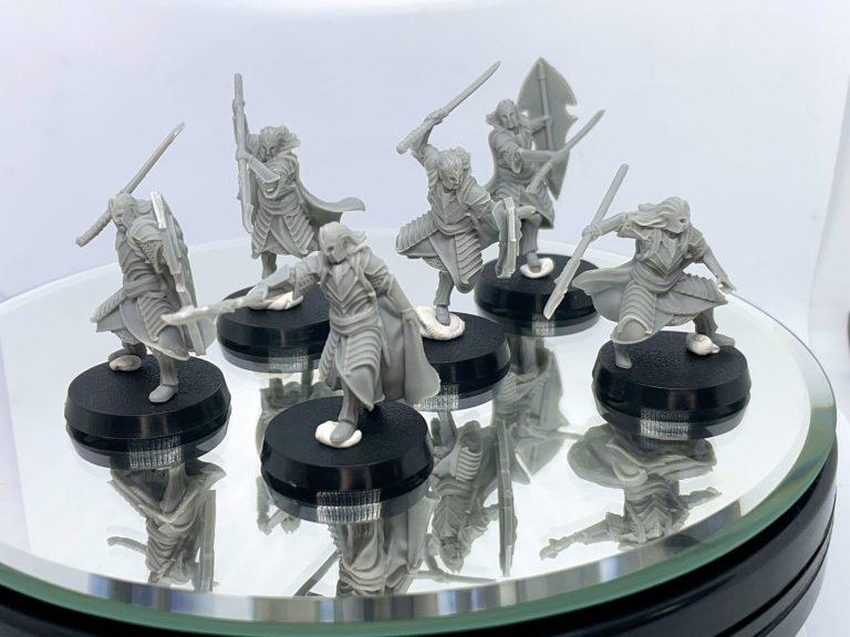 Guardia del rey alto elfo davale games