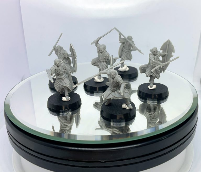 High Elven King Guard Davale Games assamble