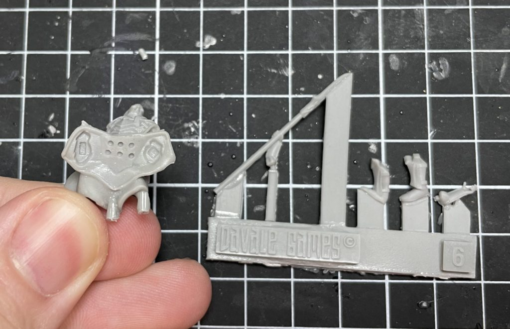 How to assemble a davale games model