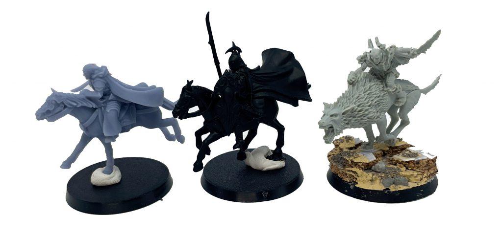 Comparación Elfos Rivendell Elven Warrior Davale Games