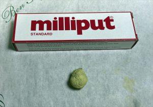 Masilla milliput terracota standard peanas warhammer