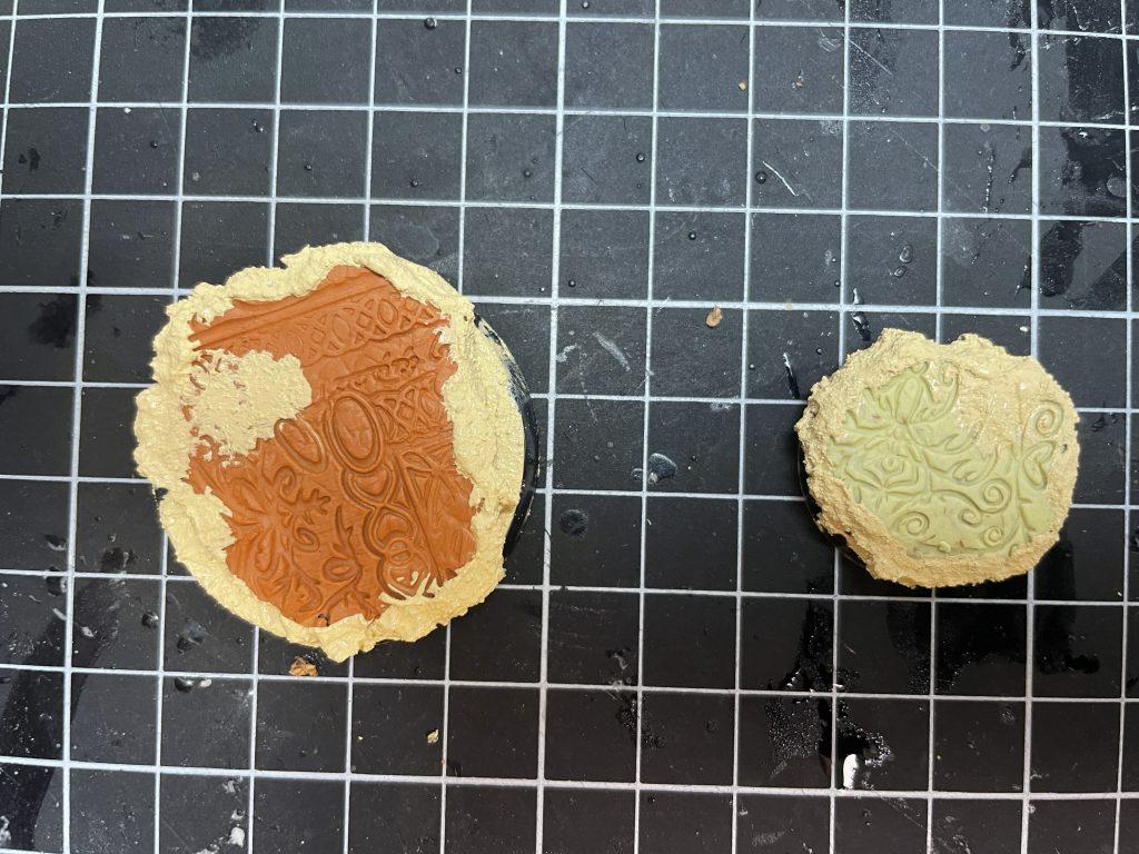 Peana masilla terracota milliput