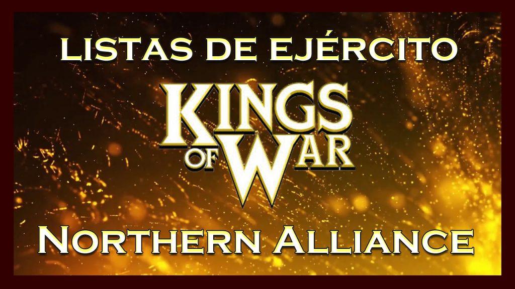 Listas de ejército Northern Alliance King of War kow Army list
