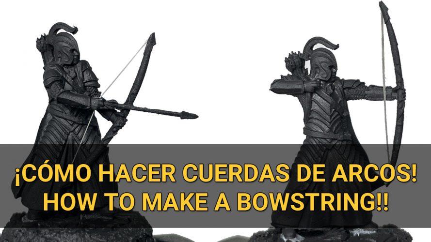 how to make a bowstring como hacer cuerda para arcos