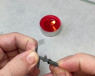 paso 2 juntar plásticos