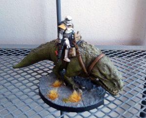 Star Wars Legion - Jinete de Dewback