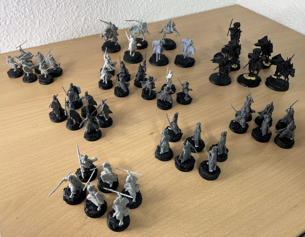 Army of rivendell warhammer middle-earth