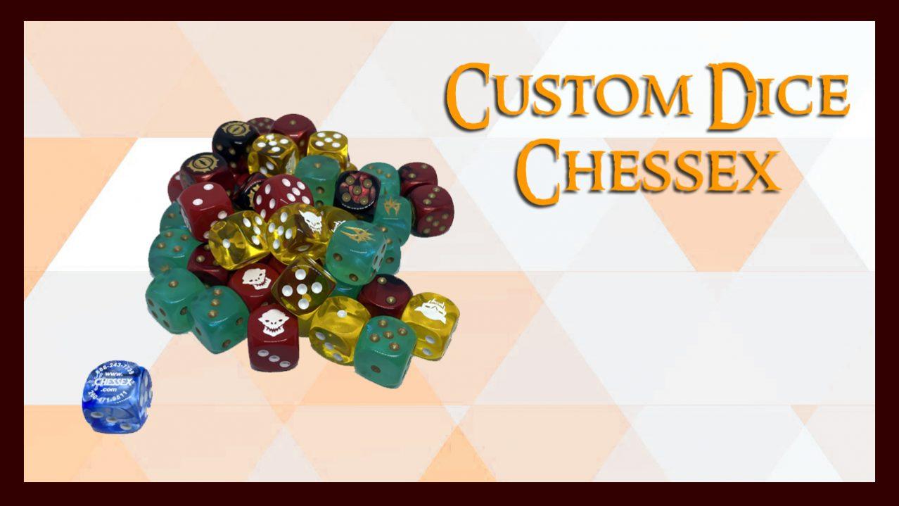 Custom Dices Chessex Europe España