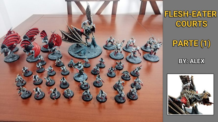 Ejército Flesh-eater Courts Age of Sigmar Warhammer