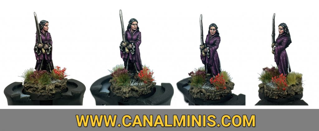How to paint female skin warhammer miniature modelism