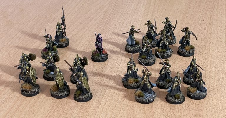 Miniatures lord of the ring alternatives rivendell
