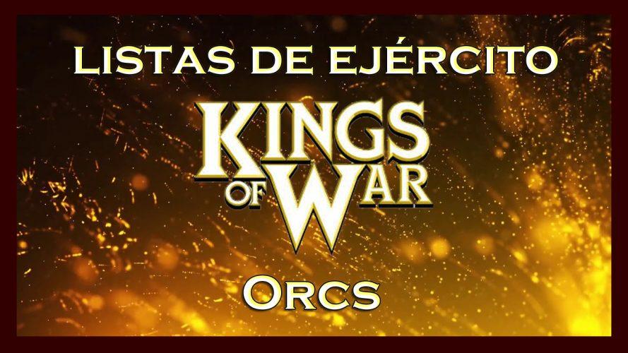 Listas de ejército Orcos King of War Army lists orcs KoW