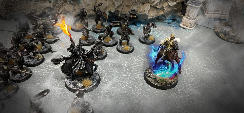 Glorfindel Vs Rey Brujo Warhammer