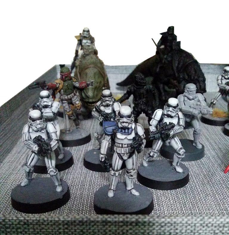 Escuadra Stormtrooper Imperial Star wars Legion