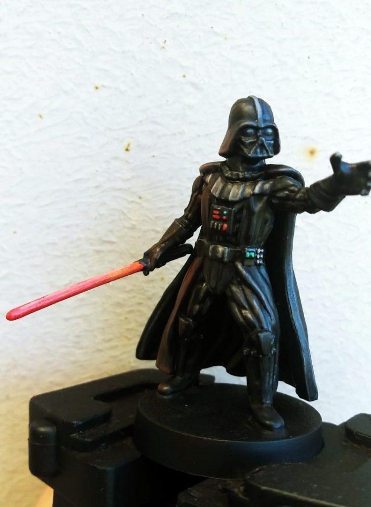 Darth vader Star Wars Legion pintado