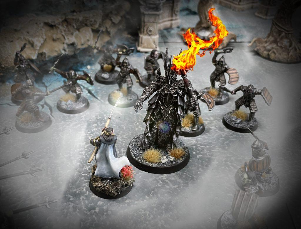 Gil-galad vs Sauron Warhammer LotR guide