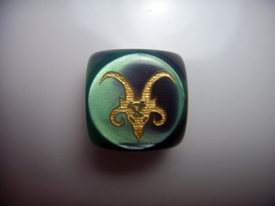 Custom dice warhammer skaven