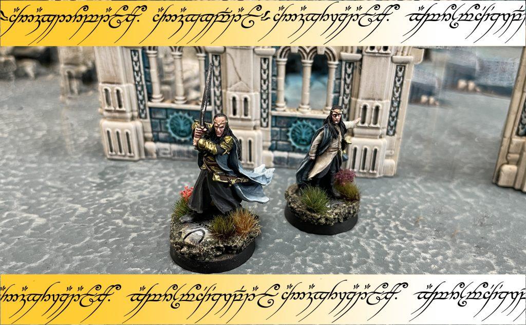 Análisis tácticas y estrategias Elrond Warhammer Lindir