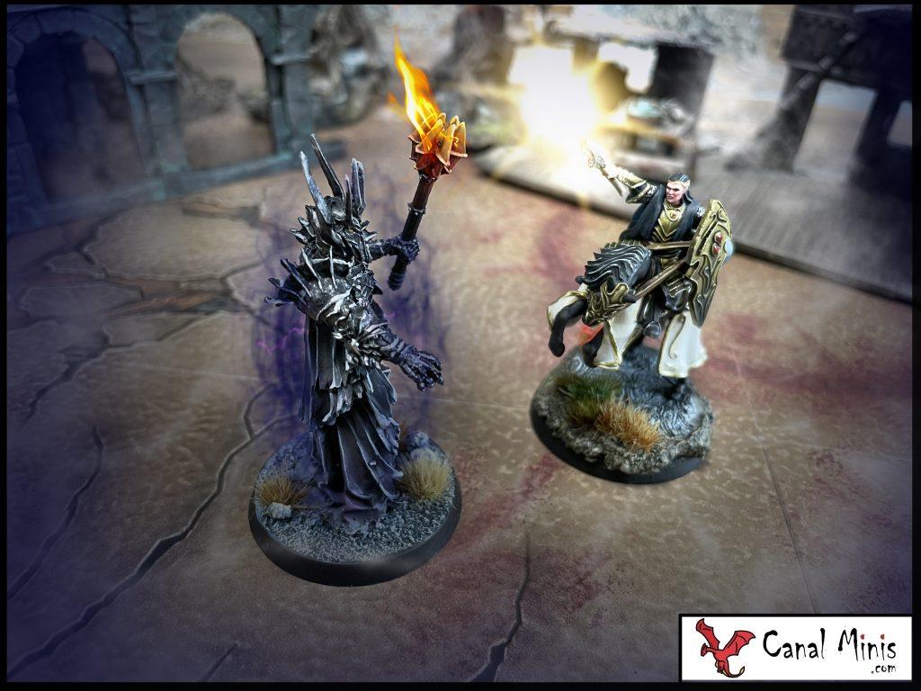 Gil-Galad vs Sauron Warhammer
